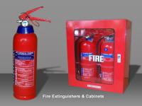 Portable Fire Extinguishers and Cabinets