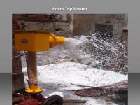 Foam Top Pourer